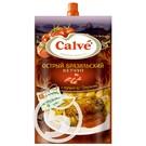 """Кетчуп """"Calve"""" Острый Бразильский с перцем 350г"""