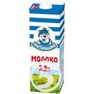 """Молоко """"Простоквашино"""" ультрапастеризованное 3.2% 950мл"""