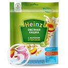 """Каша """"Heinz"""" Овсяная кашка с молоком и персиком 250г"""