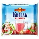 """Кисель """"Русский Продукт"""" Клубничный 220г"""