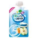 """Пюре """"Фрутоняня"""" из яблок и абриков для детей с 6 месяцев 90г"""