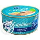 FISH HOUSE Сардина атлантич.натурал.230г