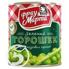 ФРАУ МАРТА Горошек зеленый ж/б 310г
