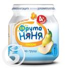 ФРУТО НЯНЯ Пюре ГРУША д/дет.100г