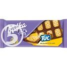 MILKA Шоколад мол.с сол.крекером TUC 87г