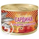 Сардина атл.в т/с с овощ.гарниром 250г