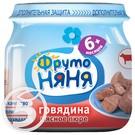 ФРУТОНЯНЯ Пюре ГОВЯД.мясн.д/дет.пит.80г