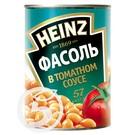 HEINZ Фасоль в томатном соусе 415г