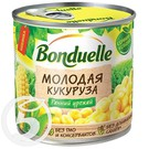 BONDUEL.Кукуруза МОЛОДАЯ сладкая 425мл