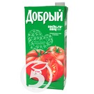 Сок ДОБРЫЙ томатный с солью  2л