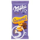 MILKA Шоколад молочный с карам.нач.90г