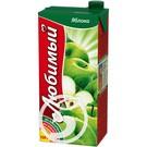 ЛЮБИМЫЙ Нектар яблочн.дет.пит.0,95л