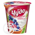 ЧУДО Йогурт черник/малина 2,5% стак.290г