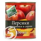 GL.VILLAGE Персики полов.в сиропе 850мл