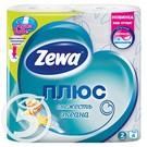 ZEWA+ Бумага туалет.ароматиз.2-х сл.4рул