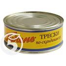 МОР.КОТИК Печень трески по-скан.240г