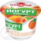 КРАСНОГОР.Йогурт ПЕРСИК вяз.2,5% 120г