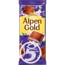 Шокол.ALPEN GOLD мол.чер/йог90г
