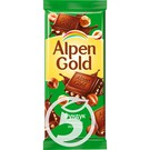 ALP.GOLD Шок.молоч.с фундуком 90г