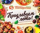 Каталог Пятерочка (Санкт-Петербург) с 24 августа по 21 сентября 2017 («Продлеваем лето!»)